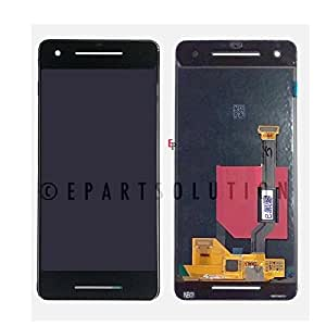 "ePartSolution_Google Pixel 2 5.0"" LCD Display Touch Screen Glass Lens Digitizer Assembly Black Replacement Part USA Seller"