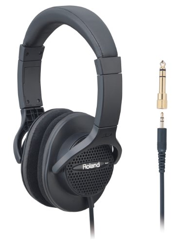 ROLAND RH-A7 BK open-air type Monitor Headphones