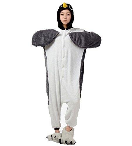 Amazon.com Grey Penguin Onesie Costume for Women Men Kigurumi Pajamas Animal Partywear Clothing  sc 1 st  Amazon.com & Amazon.com: Grey Penguin Onesie Costume for Women Men Kigurumi ...