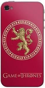 Zing Revolution Game of Thrones Premium Vinyl Adhesive Skin for iPhone 4/4S, Sansa Stark (MS-GOT530133)