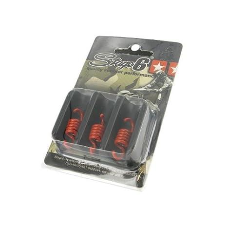 Plumas Embrague para STAGE6 Torque Control Hembra, 3 Unidades, Color Naranja - Medio: Amazon.es: Coche y moto