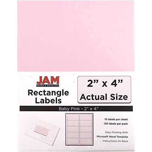 JAM Paper Mailing Address Labels - Medium - 2