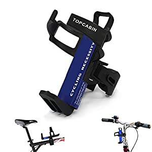 TOPCABIN Adjustable Bike Bicycle MTB Water Bottle Holder Water Bottle Rack Cage Black