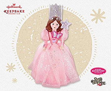 Hallmark Keepsake Ornament Club Exclusive Wizard of Oz - Glinda The Good Witch Madame Alexander 2015