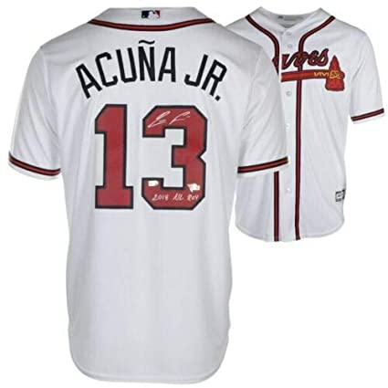 sneakers for cheap 2ab0a a0023 Amazon.com: RONALD ACUNA Autographed/Inscribed Atlanta ...