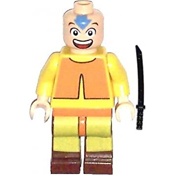 Amazon.com: LEGO Avatar Minifig Aang: Toys & Games