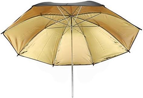 36 90cm Black Golden Reflector Umbrella for Photography Studio Light Flash by Ucland