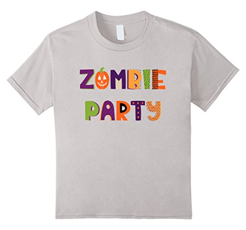 Top 10 Easy Halloween Costumes (Kids Zombie Party - Halloween Top And Costume - Easy Costume 10 Silver)