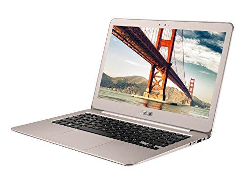 Asus Zenbook UX305UA-AS51 13.3-Inch Laptop (6th Generation Intel Core i5, 8GB RAM, 256 GB SSD, Windows 10), Titanium Gold