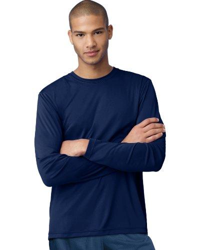 (Hanes Cool DRI'Performance mens Long-Sleeve)