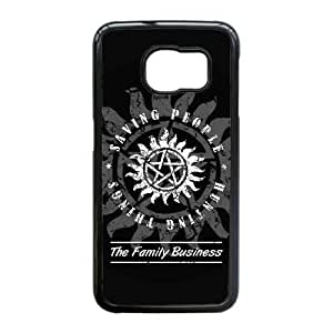 Samsung Galaxy S6 Edge case (TPU), family business supernatural Cell phone case Black for Samsung Galaxy S6 Edge - FFFG4157296
