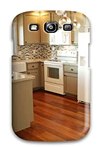 Quality Evelin Garza Case Cover With White Kitchen With Zebra Print Accents Nice Appearance Compatible With Galaxy S3