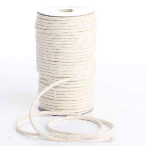 Darice 1971-15 Macrame Cord Natural Cotton 32-Ply 3mmX50yd