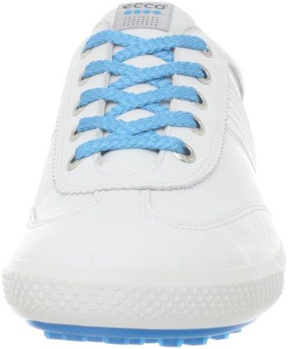 Ecco rose Street Chaussures Blanc Dames Noir rIwrUq