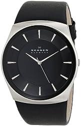 Skagen Men's SKW6017 Havene Quartz 3 Hand Stainless Steel Black Watch