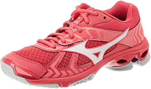 Wave Mizuno azalea wht 7 Bolt Zapatillas Para 001 Mujer Rosa camelliarose PdaqHdBA0