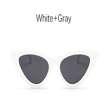 Luckyoiu Gafas de sol de ojo de gato para mujer, Gafas ...