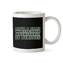 Idakoos - LIFE IS A GAME , Wheelchair Basketball IS SERIOUS !!! - Sports - Mug