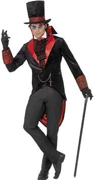 Disfraz de Drácula con hombre Vampire Make Up Set: Amazon.es ...