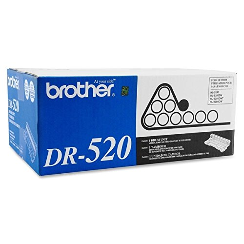 Brother Dr-520 Dcp-8060 8065 HL-5240 5250 5270 5280 Mfc-8460 8470 8660 8670 8860 8870 Drum in Retail Packaging Brother Dr520 Replacement Drum