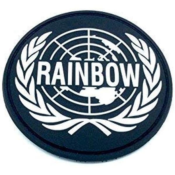 Rainbow Seis Emblema Cosplay Airsoft PVC Parche: Amazon.es: Deportes y aire libre