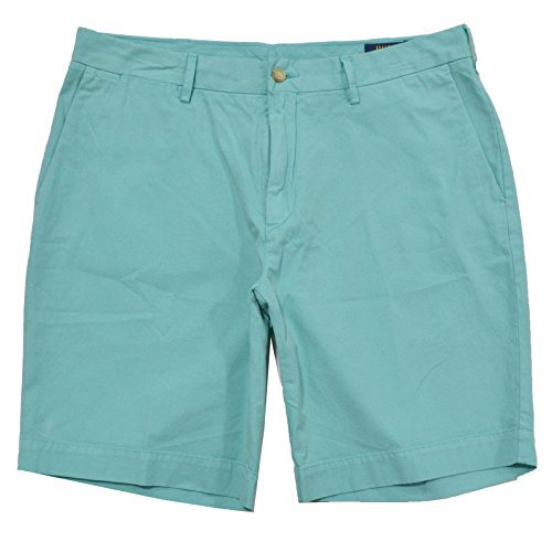 Polo Ralph Lauren Mens 9 Inch Classic Fit Shorts (38, (Polo Ralph Lauren Khaki Shorts)