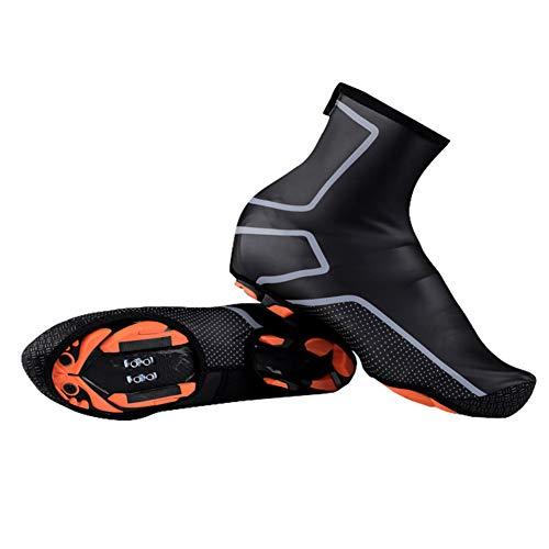 HomDSim Cycling Shoe Covers Winter Waterproof Windproof Warmer Mountain Road Bike Shoe Covers Outdoor Sports Rain Overshoes