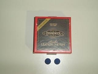 BLUE DIAMOND FROM BRUNSWICK 11mm SNOOKER / POOL CUE TIPS x 2** by Brunswick