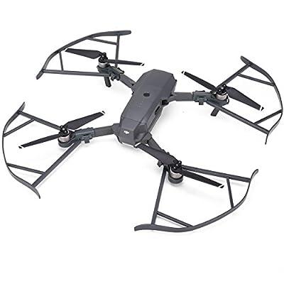 AQGOODLIFE DJI Mavic Pro Accessories Mavic Pro Drone Quick Release Propeller Guard Bumper Protectors Not Affect Obstacle Avoidance(Gray)