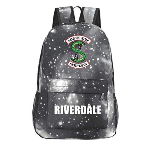 Xcoser Southside Serpents Jughead Backpack for Boys Girls Student Schoolbag Bookbag]()