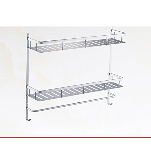 outlet Bathroom racks/Toilet wall mounted double Towel rack/ bathroom triangle shelf-D