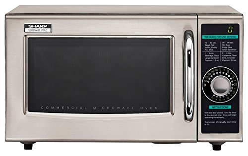 Sharp Electronics R 21LCF Microwave stainless