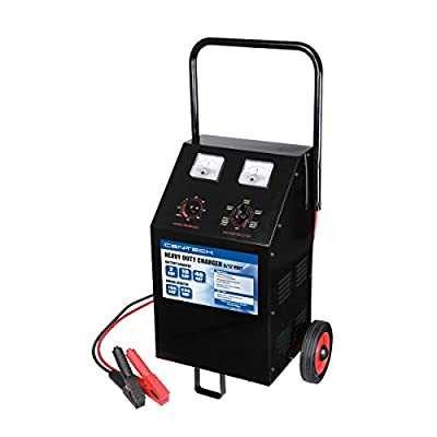 2/40/200 Amp 6/12V Manual Wheel Charger with Start