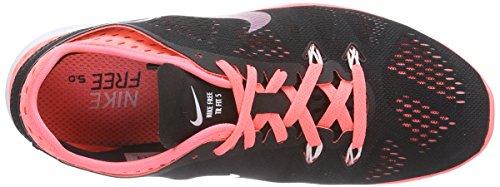 Nike Free 5.0 Tr Fit 5 Respirare Nero / Caldo Lava / Lava Glow / Bianco