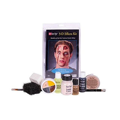 [Character Makeup Kits Ben Nye Deluxe 3-d Special Effects Kit] (Special Effects Makeup Kit)