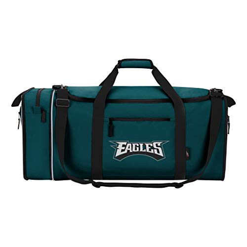 The Northwest Company NFL Philadelphia Eagles NFL Steal Duffel, Green, Measures 28'' in Length, 11'' in Width & 12'' in Height by The Northwest Company