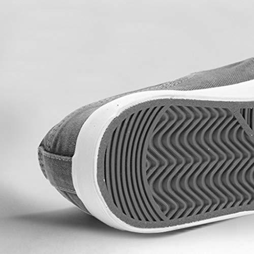 tendenza di casual scarpe traspirante Color 40 scarpe tela bordo Color di Size WangKuanHome estate color selvatici Scarpe Khaki Khaki uomo tela da da uomo scarpe q6PF7X