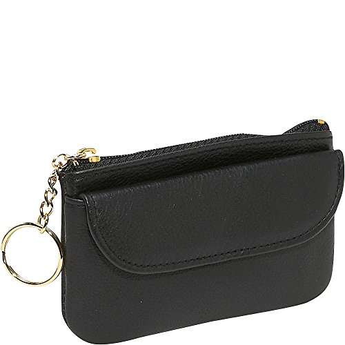 budd-leather-zippered-coin-purse-with-key-ring-black