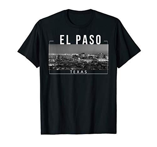 El Paso Texas TX Skyline Rio Grande - Tee -