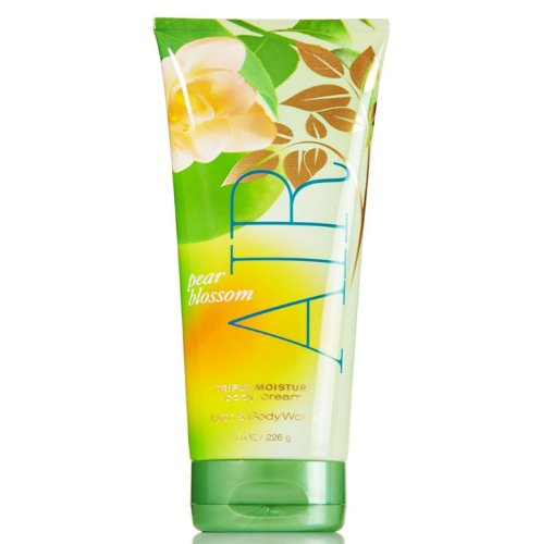 Bath & Body Works Pear Blossom AIR Triple Moisture Body Cream 8 oz / 226 mL