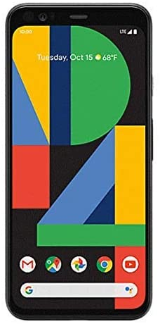 Google Pixel 4 XL Smartphone (G020J) Verizon ONLY - 64GB / Just Black (Renewed)