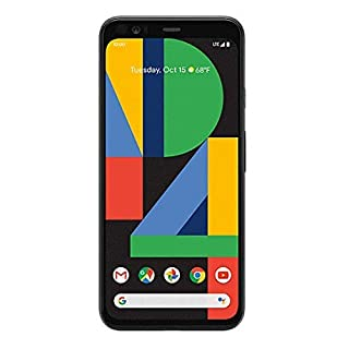 Google Pixel 4 128 GB Verizon (Just Black) (Renewed)