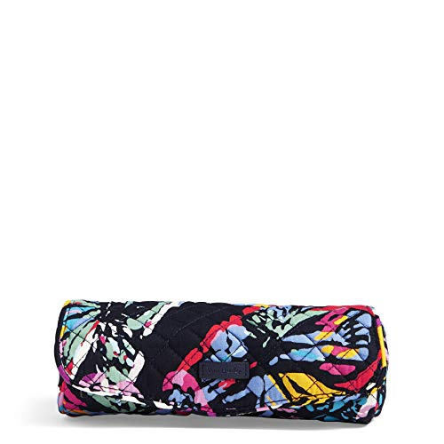 Vera Bradley Iconic On a Roll Case, Signature Cotton, Butterfly Flutt -