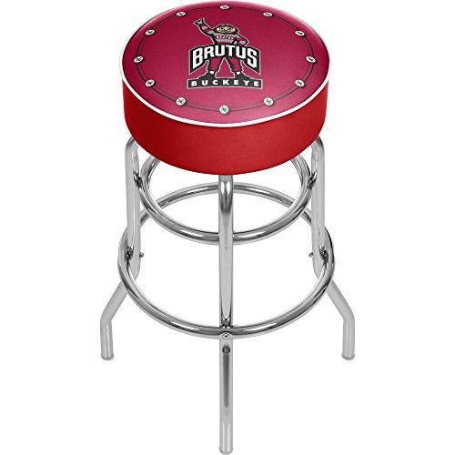 - NCAA Ohio State University Padded Swivel Bar Stool