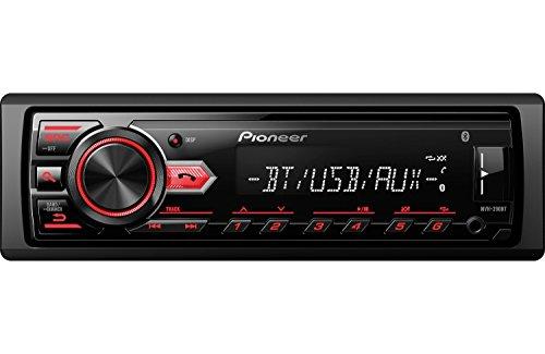 Pioneer MVH-290BT Vehicle Digital Music Player Receivers, ()