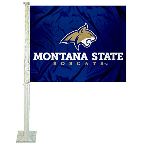 College Flags and Banners Co. Montana State Bobcats Car Flag