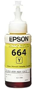 Epson T664420 Cartucho de Tinta para L200/L110, Botella, amarillo
