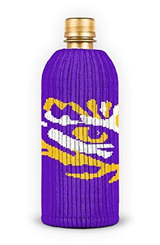 Lsu Tigers Beverage - FREAKER Fits Every Bottle Can Beverage Insulator, Stops Bottle Sweat, NCAA Collegiate College Louisiana State University LSU Tigers