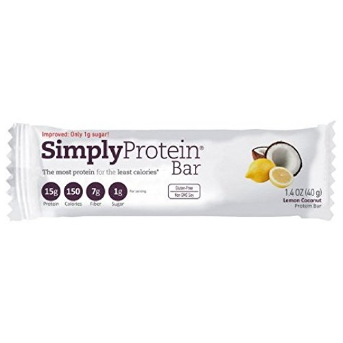 The Simply Bar Protein, Lemon and Coconut, 1.4 Ounce