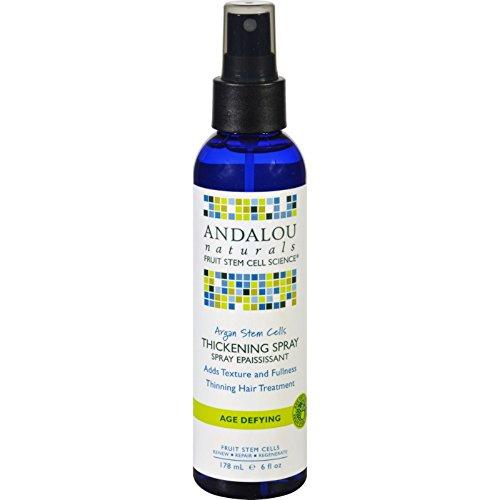 Andalou Naturals Thickening Spray - Argan Stem Cells - 6 oz